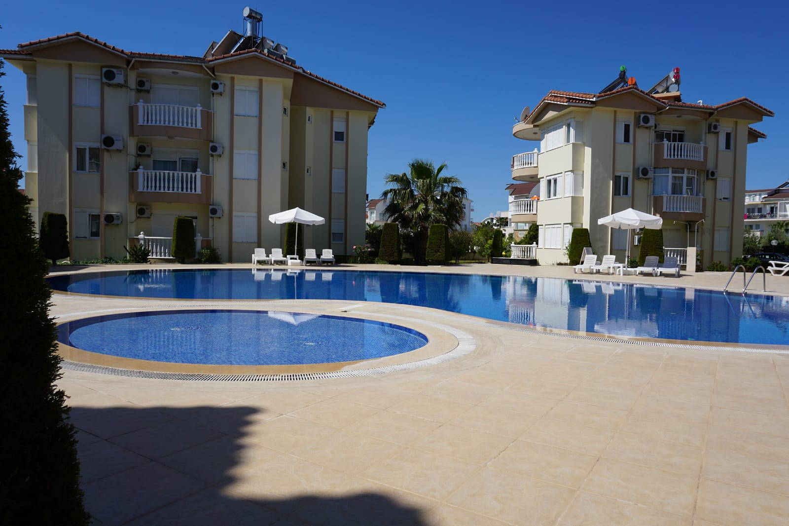 2-Bedroom Apartment In Residential Complex With Pool