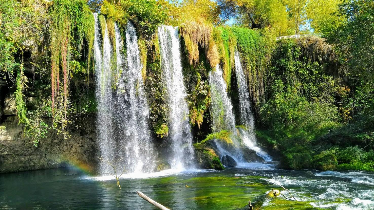 Где в Белеке водопад?
