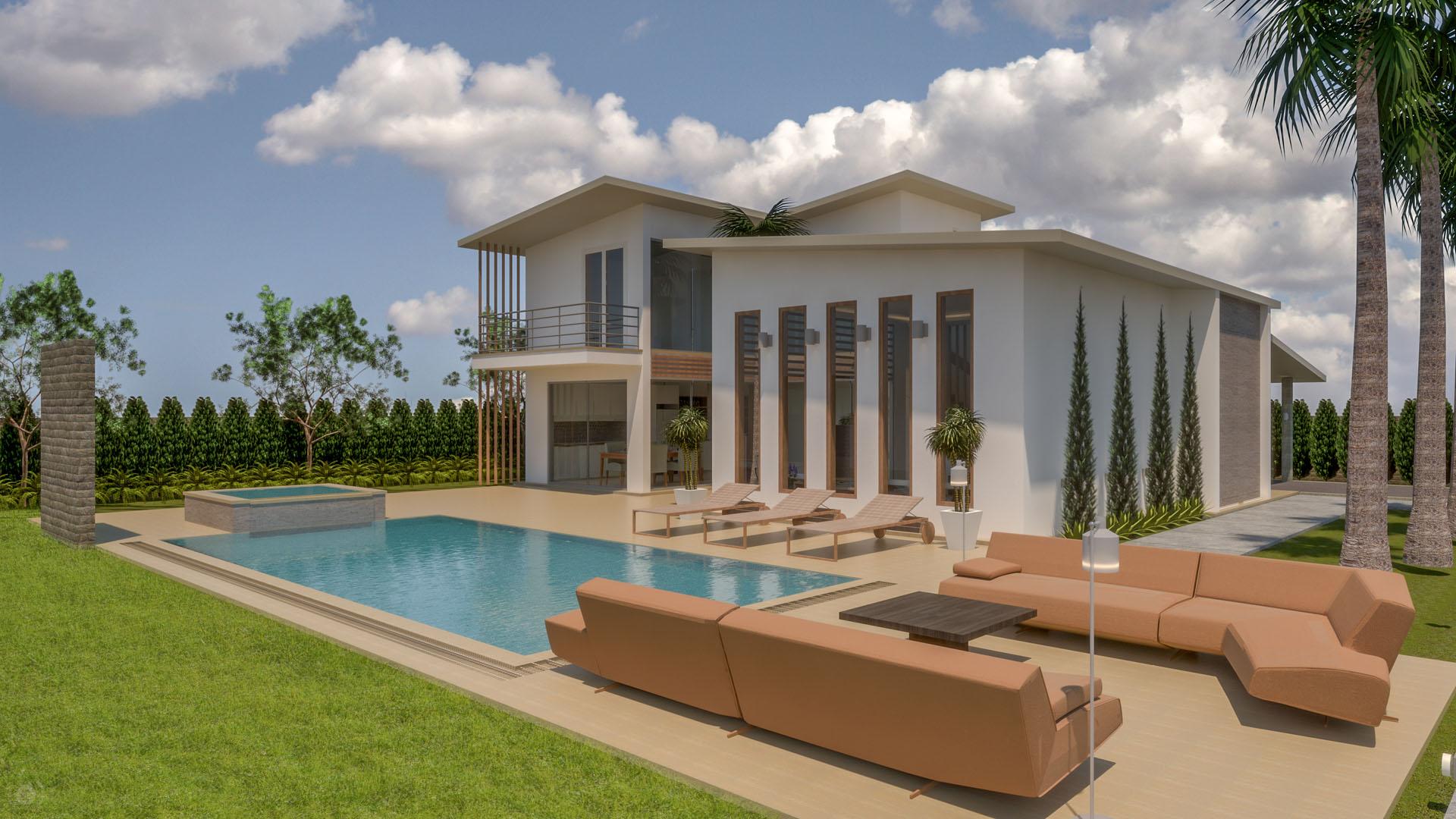 Nouvelle Villa de Luxe à 3 Pièces