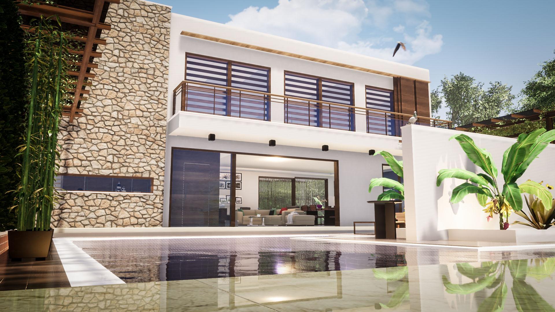 Bespoke Villa With 4 Bedrooms