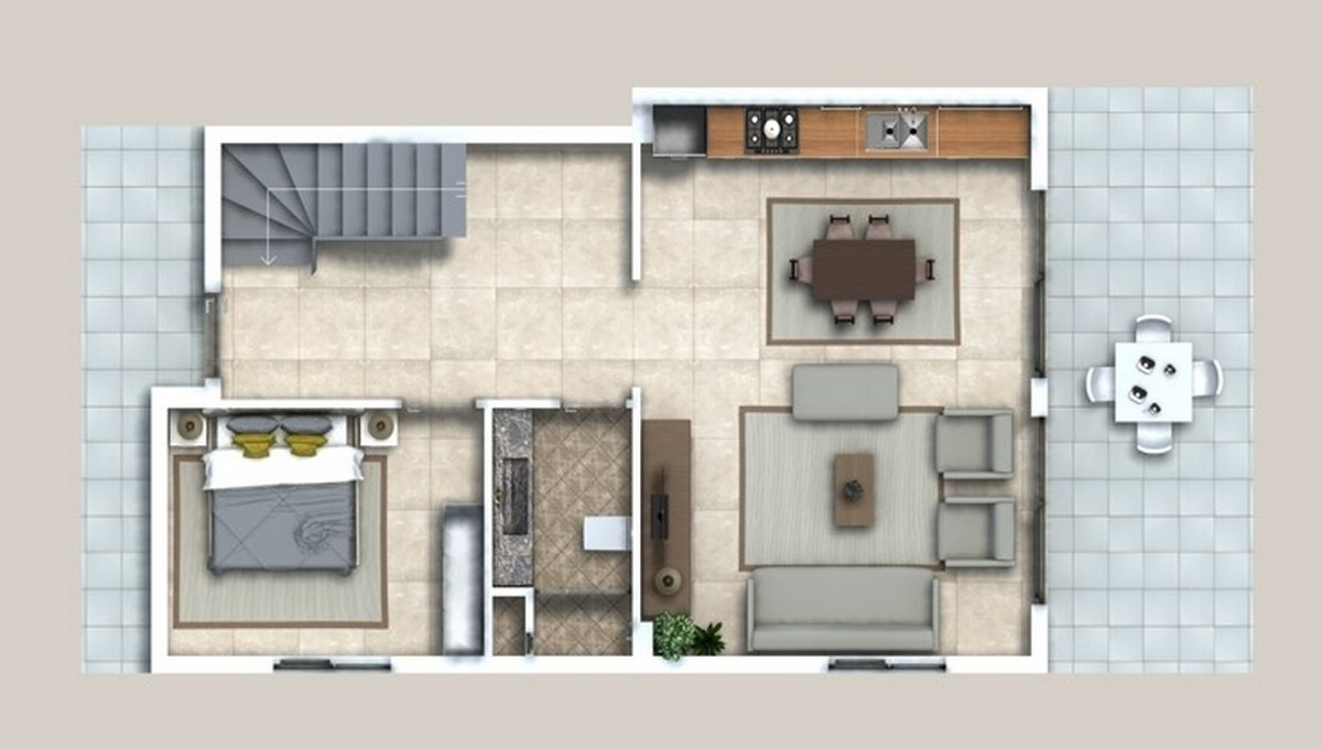 Villa Lower Floor