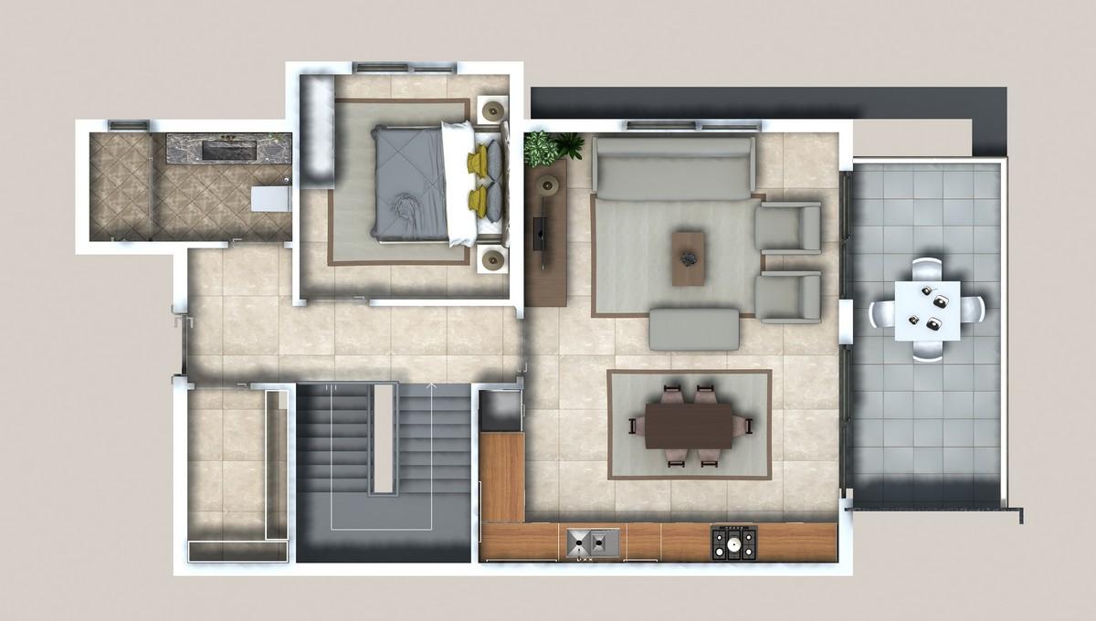 Lower Duplex Upper Floor